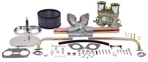 EMPI 47-7316-0 EMPI SNGL 44HPMX CARB KIT,T1 W/CHROME AIR CLEANER