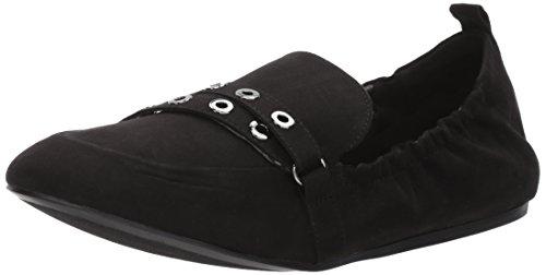 Nine West Womens Batter Fabric Loafer Flat Black Fabric HYj2scq