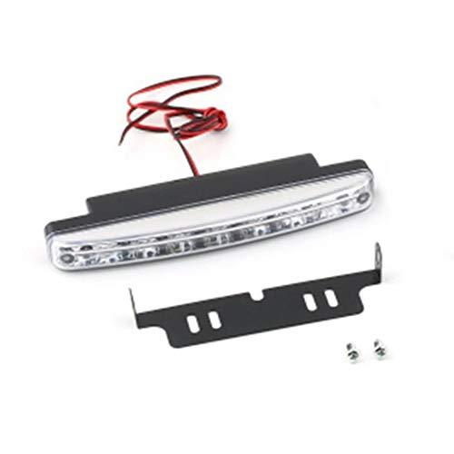AIkong Universal 12V 8LED Car Daytime Running Light Fog Lamp Car Driving Light White