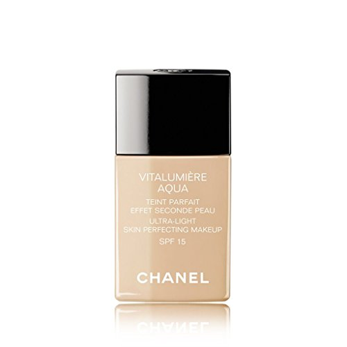 CHANEL VITALUMIÈRE AQUA ULTRA-LIGHT SKIN PERFECTING MAKEUP SPF 15 # 30 BEIGE