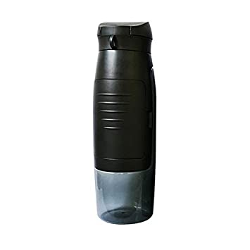 tritan Bottle for Hot and Cold Beverages Storage Compartment for ID Cards Money JCORE Wallet Water Bottle 100/% BPA Free 25 oz Keys