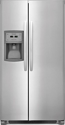 'Frigidaire Stainless Steel Side-By-Side Counter Depth Refrigerator'