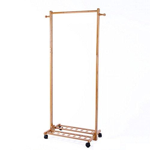 LIANGJUN Floor Standing Coat Rack Hat Stand Hanger Multifunc