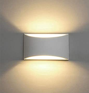 competitive price 25503 cf32c LED Wall Lights Plaster Wall Sconce Light Fixture Up Down Decorative Wall  Lighting Indoor with 7W Light G9 Cap Type Night Lamp