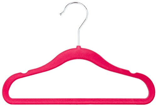 AmazonBasics Kids Velvet Hangers Pack