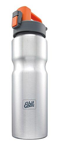 Esbit Edelstahl Trinkflasche, Silber, 1531930