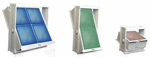 Ventana basculante para bloques de vidrio con marco - Disponible en todas las medidas UTIL.FER