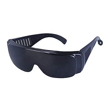 CHAIZIYU Gafas para soldar Gafas de Sol Industriales Antirremolques Gafas UV antirreflejantes Antideslumbrantes Montar a Prueba de Polvo Gafas a Prueba de ...