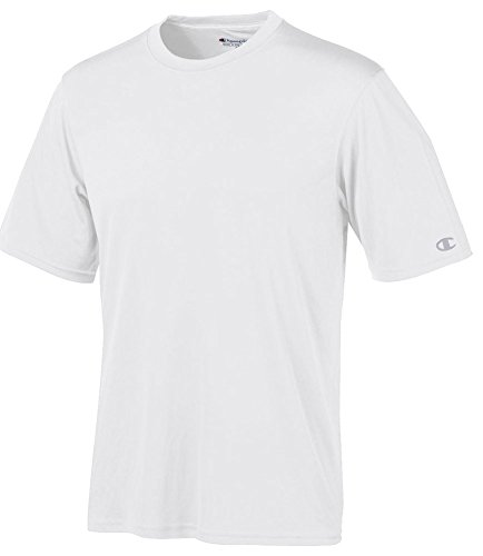 Champion Men's Double Dry Interlock T-Shirt, Wht, XX-Large