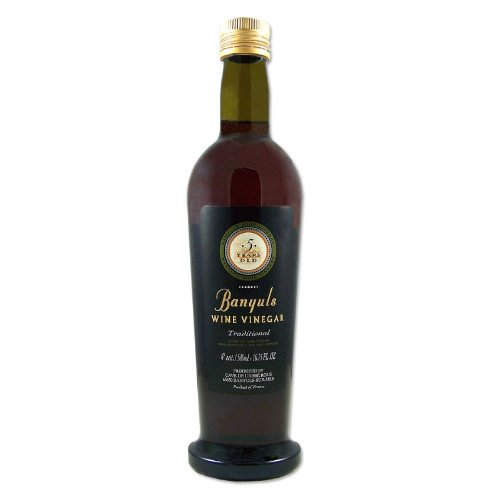 Banyuls Wine Vinegar - Imported From France, 16.9-Ounce Bottles (Pack of 3) by Banyuls