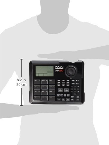Akai Professional XR20 | Beat Production Station Drum Machine + Studio Headphones + Stereo Interconnect Cable & Clean Cloth by Akai (Image #7)