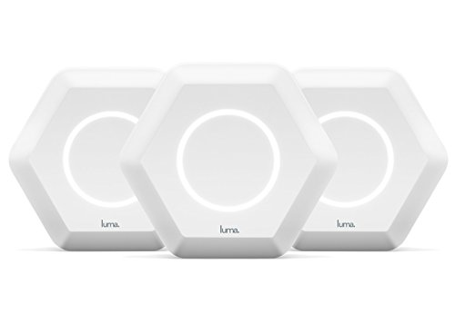 Luma Whole Home WiFi (3 Pack - White) -   Replaces WiFi Extenders and Routers, Works with Alexa, Free Virus Blocking, Free Parental Controls, Gigabit Speed (Wireless Router Ratings)