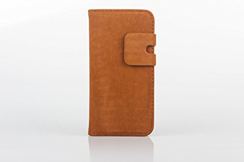 AceCase Leather Wallet Case for iPhone 5/5s