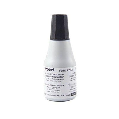 Trodat 7021rápido secado de tinta 25ml, color 73478 - Black