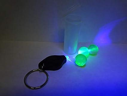 Amazon.com: Llavero de uranio verde de mármol de 5/8 ...