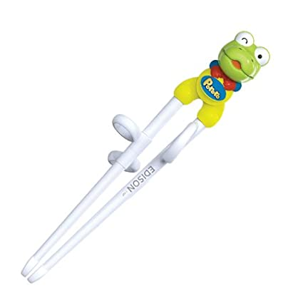 1 X Green Frog Edison Kids Chopsticks (Right-hand) 3801