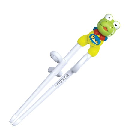 Chopstick Kids (1 X Green Frog Edison Kids Chopsticks (Right-hand))