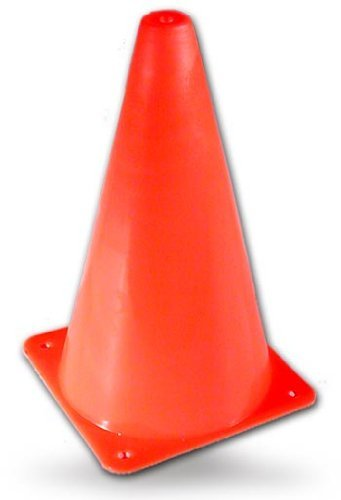 Goal Sporting Goods Marking Cones, 9-Inch by Goal Sporting Goods