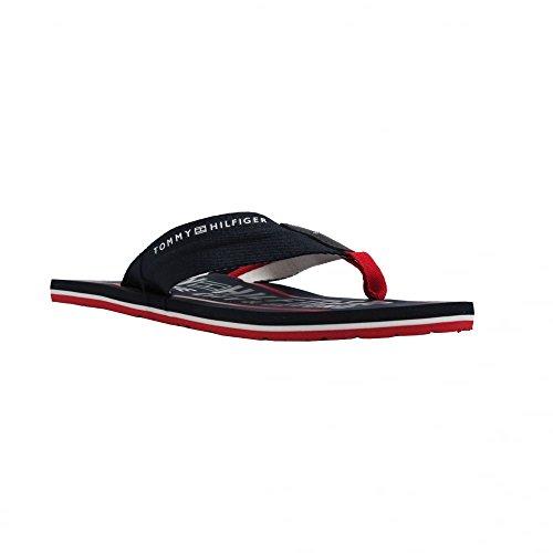 Tommy Hilfiger Smart TH Beach Sandal - Midnight (Navy) Mens Sandals gkSb5