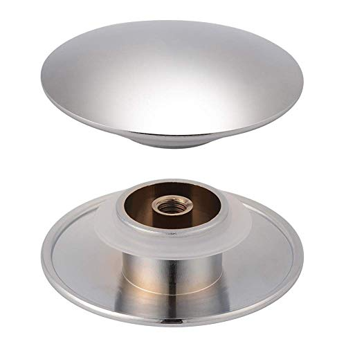 2pcs 66mm Basin Sink Click Sink Hole Cover Bathroom Sink Drain Stopper Kitchen Faucet Hole Cover Brass Polished Chrome Pop Up Click Clack Plug - Faucet Hole Cover Polished Brass