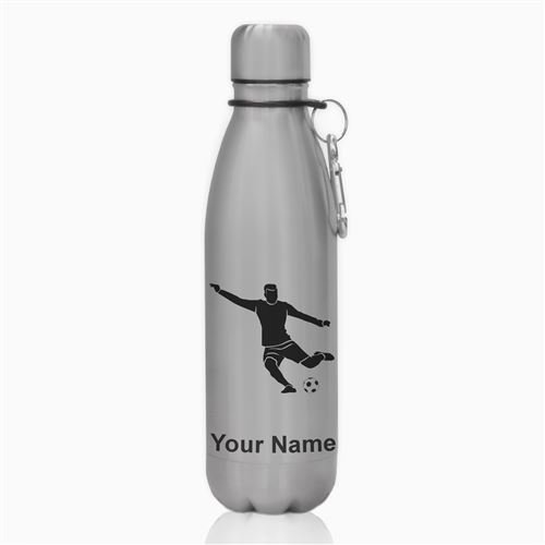 Water Bottle - Soccer Player Man - Personalized Engraving Included for $<!--$19.99-->