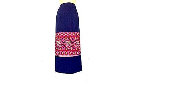 Amazon.com: Hecho a mano Thai mujer cuerda de tela floral ...