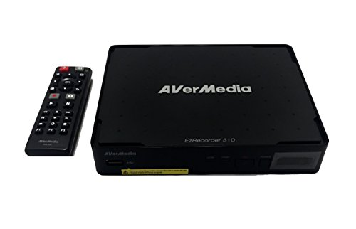 AVerMedia EZRecorder, HD Video Capture High Definition HDMI Recorder, PVR, DVR, Subscription Free, Schedule Recording, IR Blaster (ER310) by AVerMedia