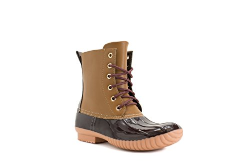 Womens Waterproof Brown Boot Rain Tan Avanti Rosetta Duckboots qtYwxna5
