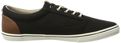 JACK & JONES Jfwvision Mixed Anthracite, Zapatillas para Hombre Gris (Anthracite)