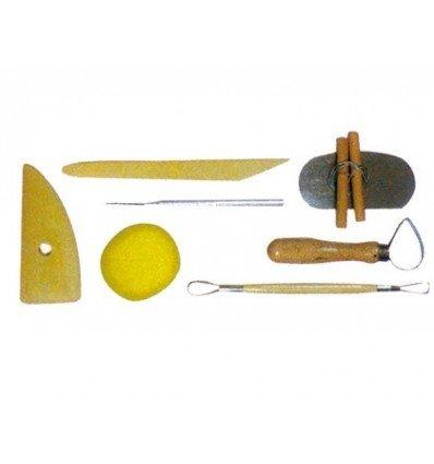8 Stück Modellierwerkzeug Deko Utensilien Artist A15201 Modellierinstrument
