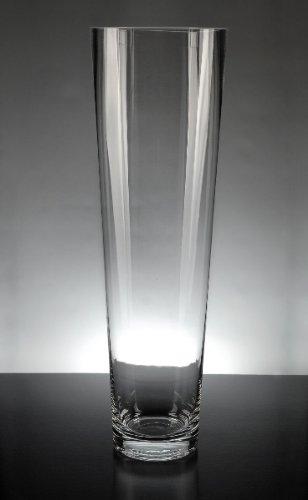 Tapered Glass Vase - 7