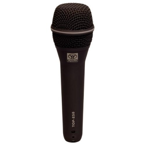 Superlux TOP-258 Professional Vocal Mic Series- Supercardioid dynamic microphone by Superlux