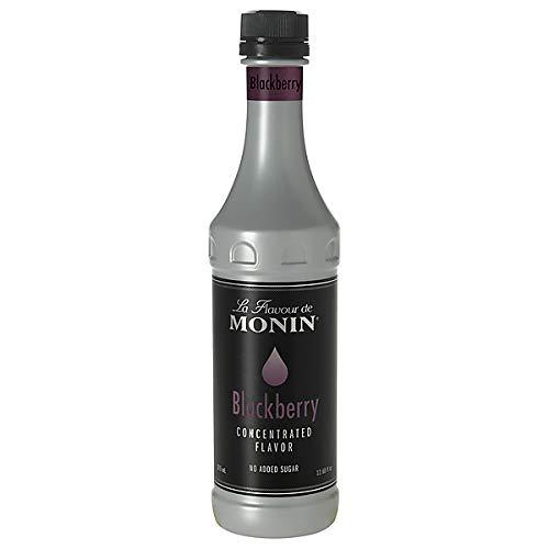 Monin - Blackberry Concentrated Flavor - No Added Sugar - Gluten Free - Vegan | 12.68 oz (375 - Blackberry Monin