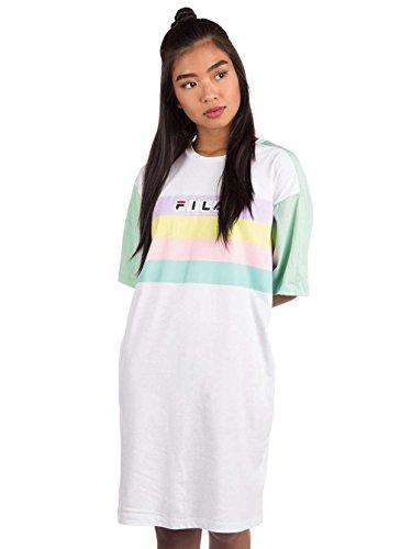 Kleid lichen Kleid Fila white bright Jasmine dYBwWWXqv
