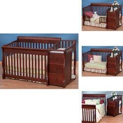 Amazoncom Ellis Crib N Changer Combo Cherry Baby