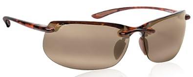 25e8c5e9a11 Image Unavailable. Image not available for. Color  Maui Jim MJ H412-10  BANYAN sunglasses Tortoise w  HCL Bronze Lens
