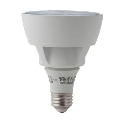 EcoSmart 75W Equivalent Bright White (3000K) PAR30 LED Flood Light Bulb