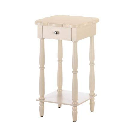 Admirable Amazon Com White Console Table Narrow End Table Behind Ibusinesslaw Wood Chair Design Ideas Ibusinesslaworg