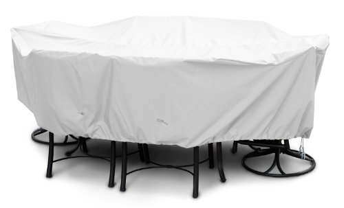KOVERROOS Weathermax 11362 Large High Back Dining Set Cover, 112 by 88 by 36-Inch, White from KOVERROOS