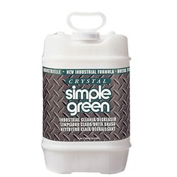 - Simple Green 19005 Crystal Industrial Cleaner/Degreaser, 5 Gallon Pail