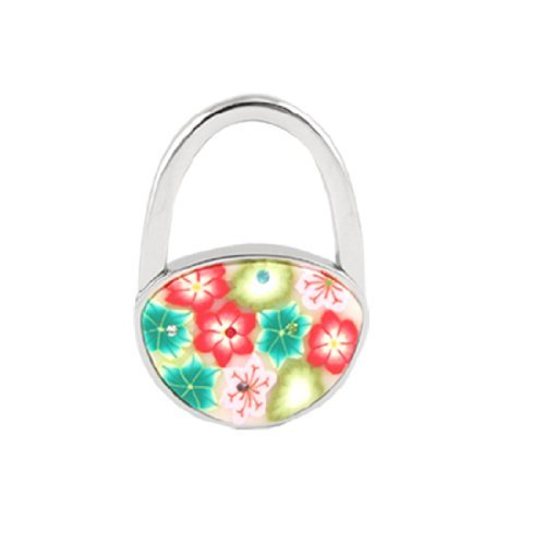 Forever Yung Foldable Multicolor Flowers Detail Padlock H...