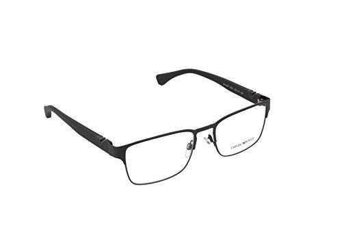 Emporio Armani EA 1027 Men's Eyeglasses Matte Black 55