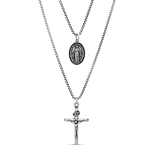 Steve Madden Oxidized Religious Stainless product image