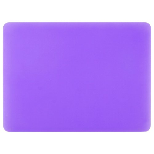 Price comparison product image Uxcell Silicone Rectangle Nonslip Pc Computer Mouse Pad, 22.8cmx19cm, Purple