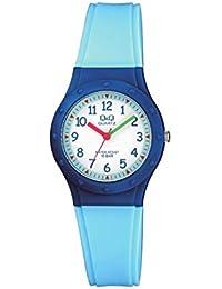 Relógio Infantil Masculino Azul Prova D'Água Ponteiro + NF