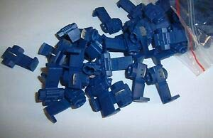 Natural Page (50) Metra Blue 16-14 AWG Gauge 12 Volt Wire Taps Scotch Lock Connector Terminal ()