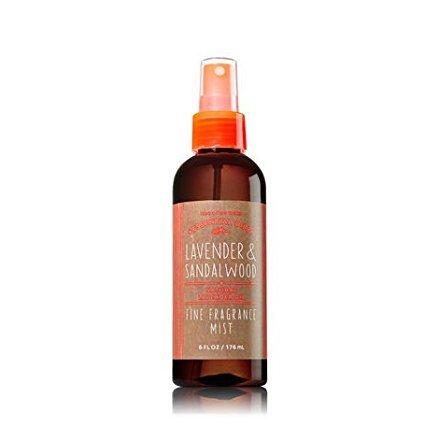 Bath & Body Works Essentials Oil - LAVENDER & SANDALWOOD - Fine Fragrance Mist 6 oz