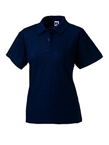 Jerzees - Polo -  - Col polo - Manches courtes Femme -  Bleu - Bleu marine - 48