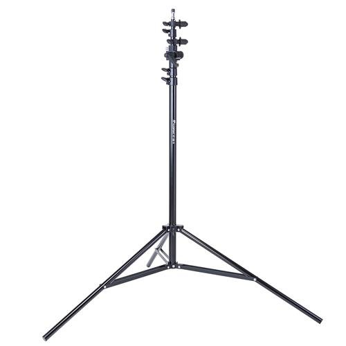 Flashpoint 11.5' Aluminum 5 Section Super Light Stand with Boom Extension and Reflector Holder Arm