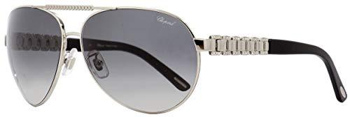 Chopard Sunglasses SCH A63S 0628 Silver 63mm ()